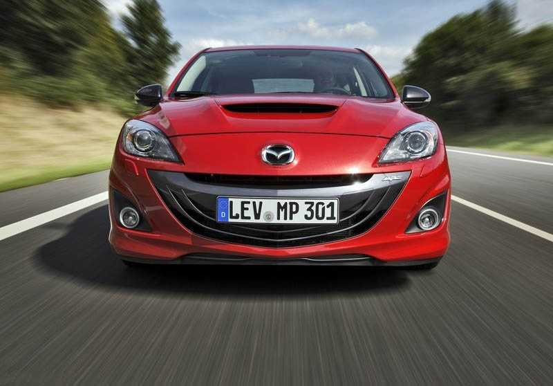 Mazda 3 MPS from front