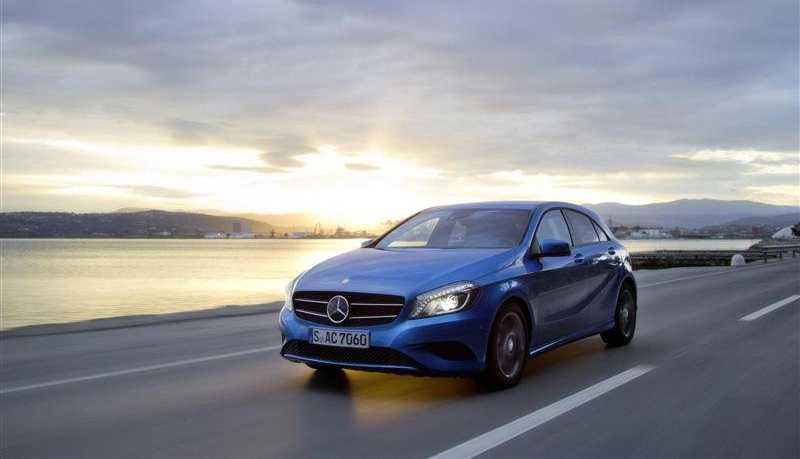 Mercedes Class A on the way