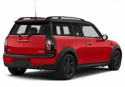 MINI Clubman from back side