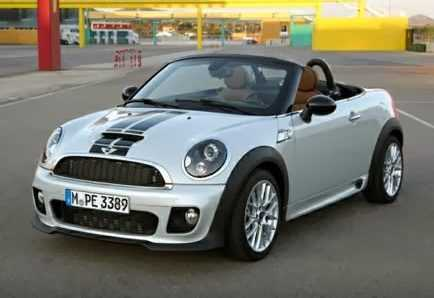 Mini Roadster from front