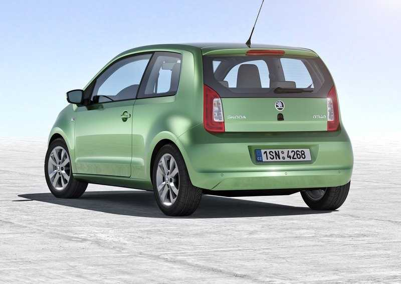 skoda citigo from back & side