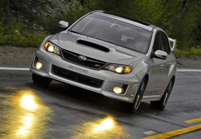 subaru impreza from fog light