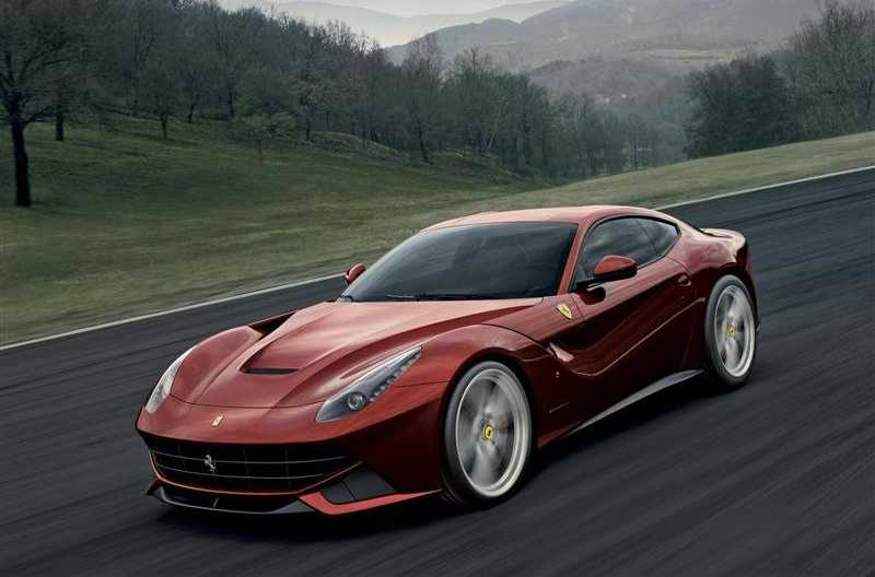 Test drive Ferrari F12 berlinetta on the way