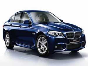 BMW تحتفل بالعيد ال30 لميلاد الفئة الخامسة بنسخة خاصة في اليابان
