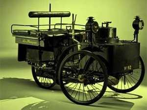 أقدم سيارة صنعها الاِنسان